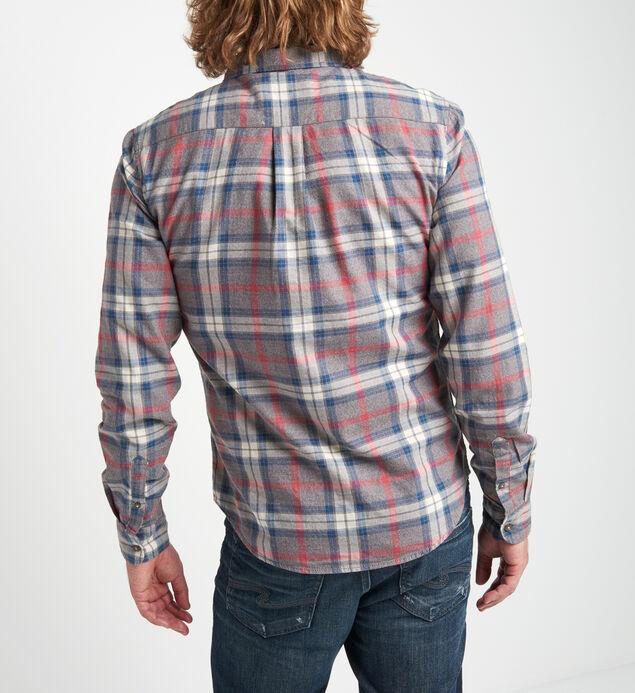 Bronx Plaid Button-Down Shirt, , hi-res