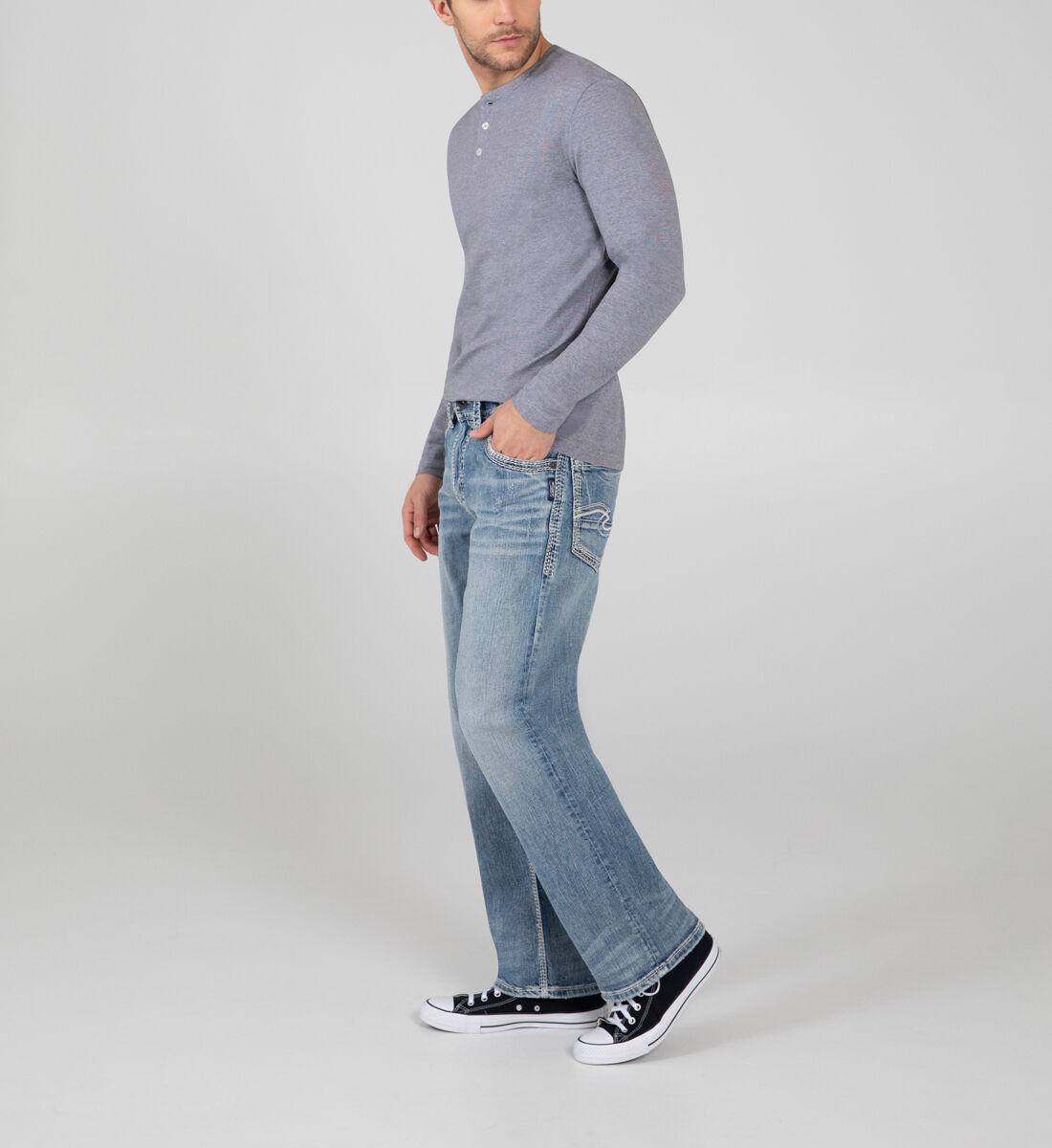 Gordie Loose Fit Straight Leg Jeans Side