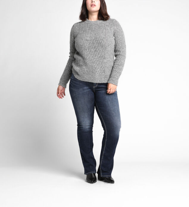 Plus Size Clothing Silver Jeans