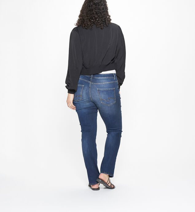 Elyse Plus Size Straight Dark Wash, , hi-res