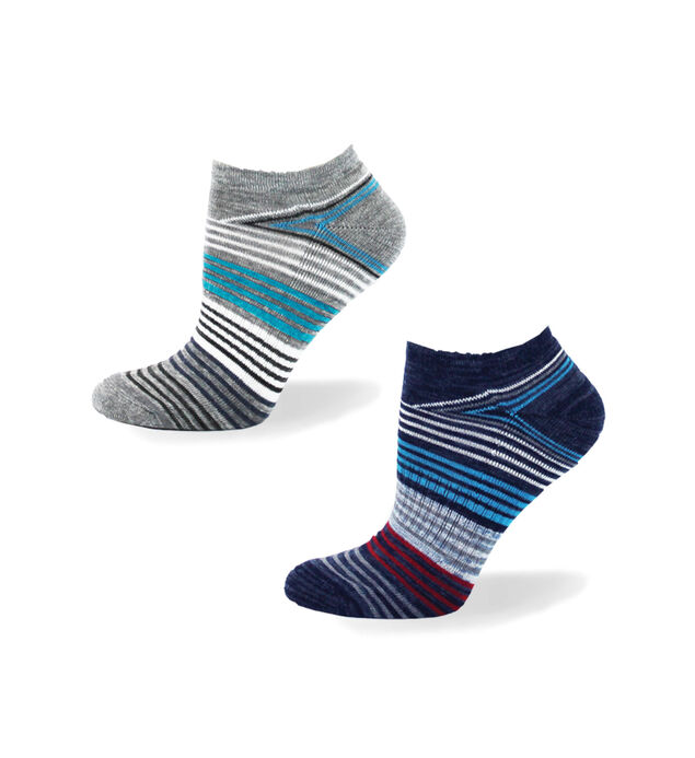 Striped Ankle Womens Socks