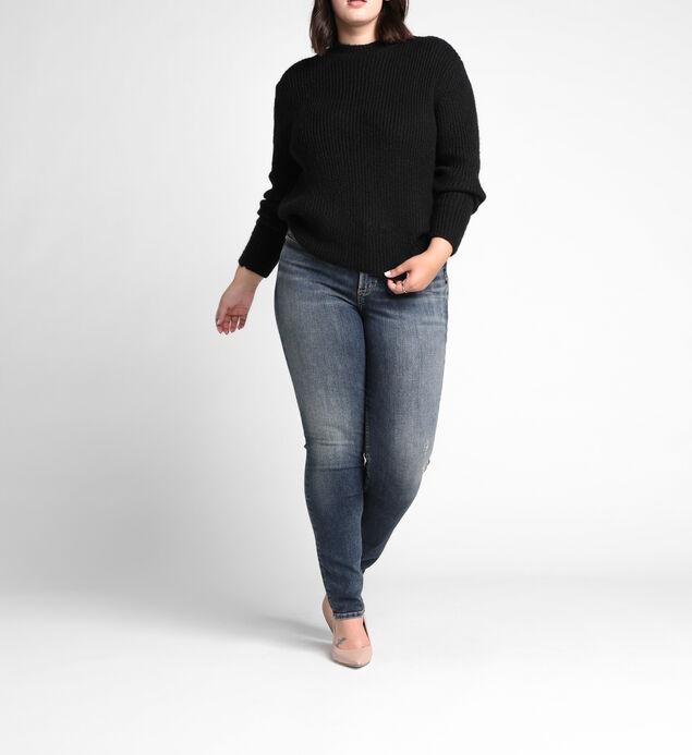 Avery High Rise Slim Leg Jeans Plus Size