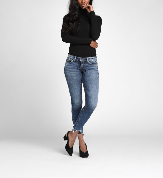 Tuesday Low Rise Ankle Skinny Jeans