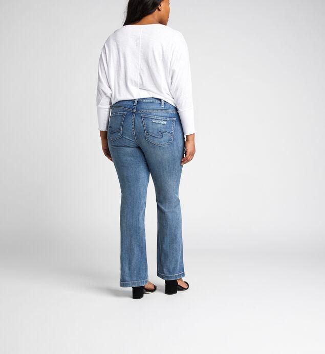 Suki Mid Rise Bootcut Jeans Plus Size, , hi-res