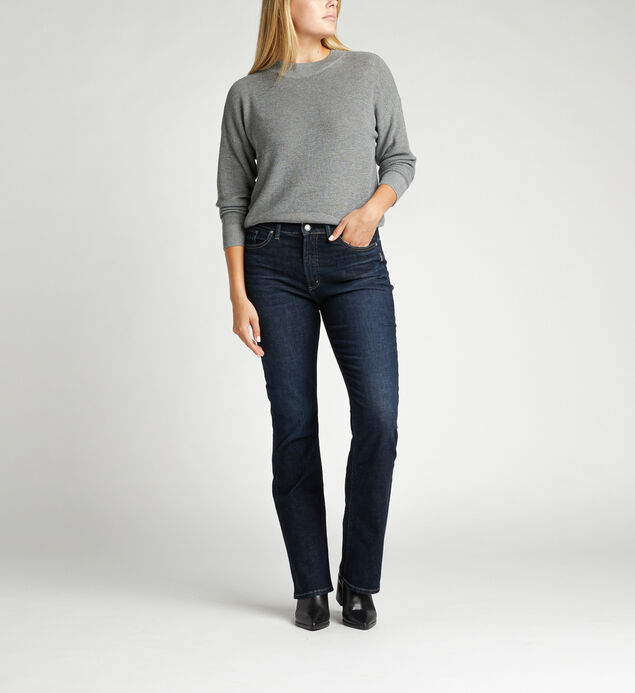 Calley Super High Rise Slim Bootcut Jeans