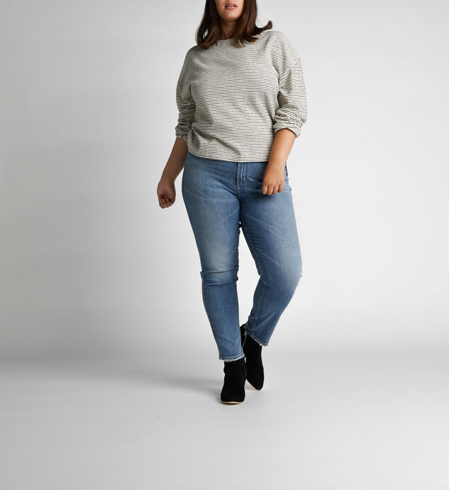 Frisco High Rise Tapered Leg Jeans Plus Size