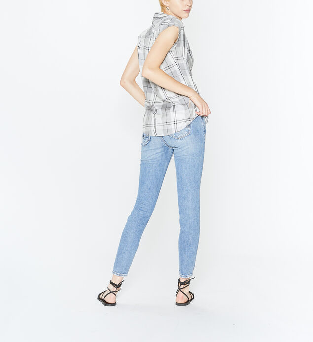 Shiloh Plaid Button Up, , hi-res