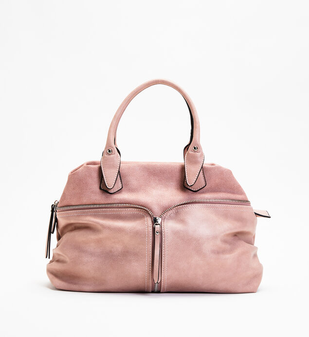 Zip-Trim Satchel
