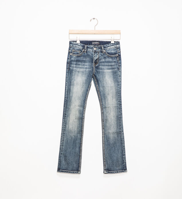 Tammy Dark-Wash Bootcut Jeans (7-16)