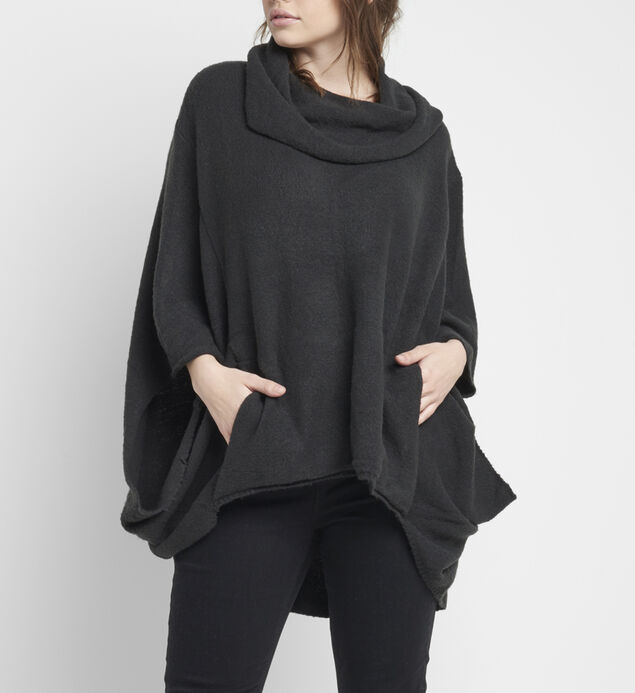Madison Cowl-Neck Poncho