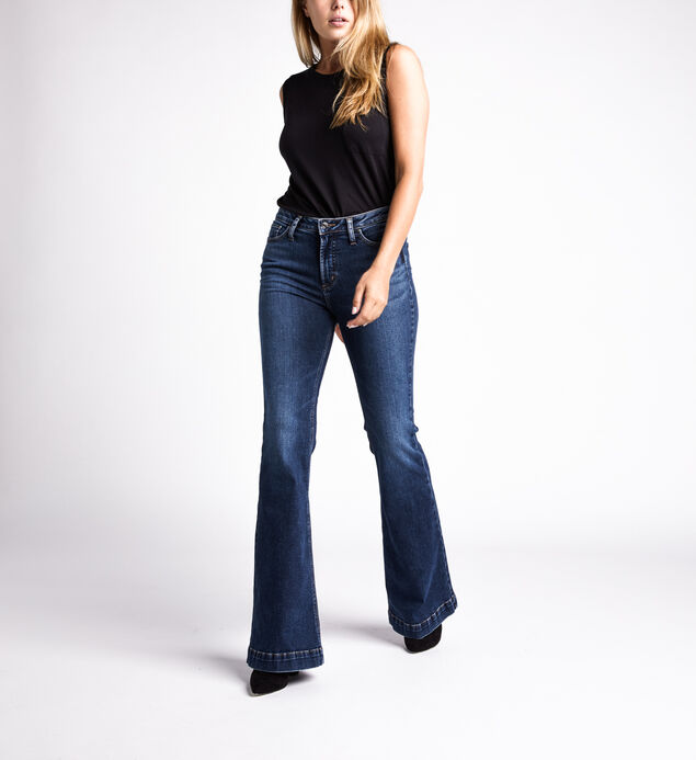 High Note High Rise Flare Jeans