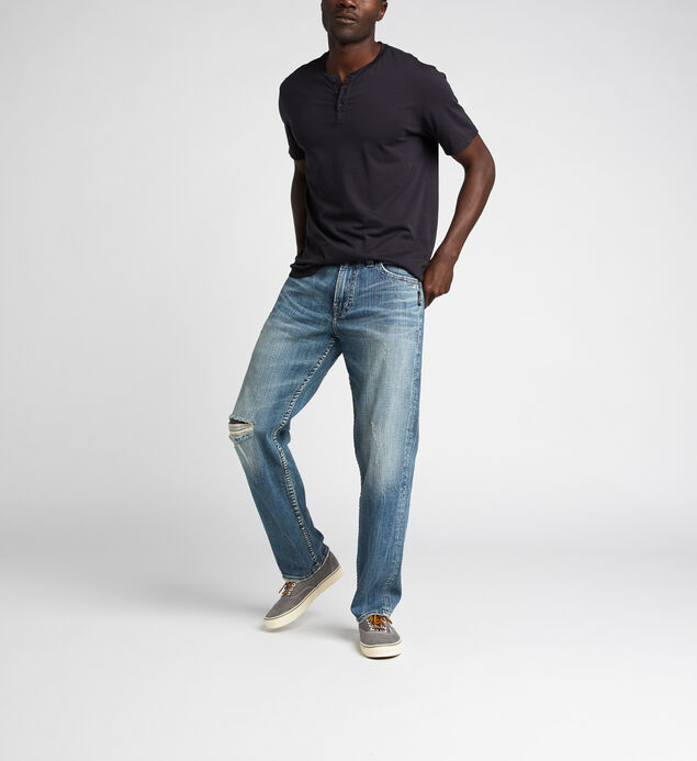 Hunter Athletic Fit Tapered Leg Jeans
