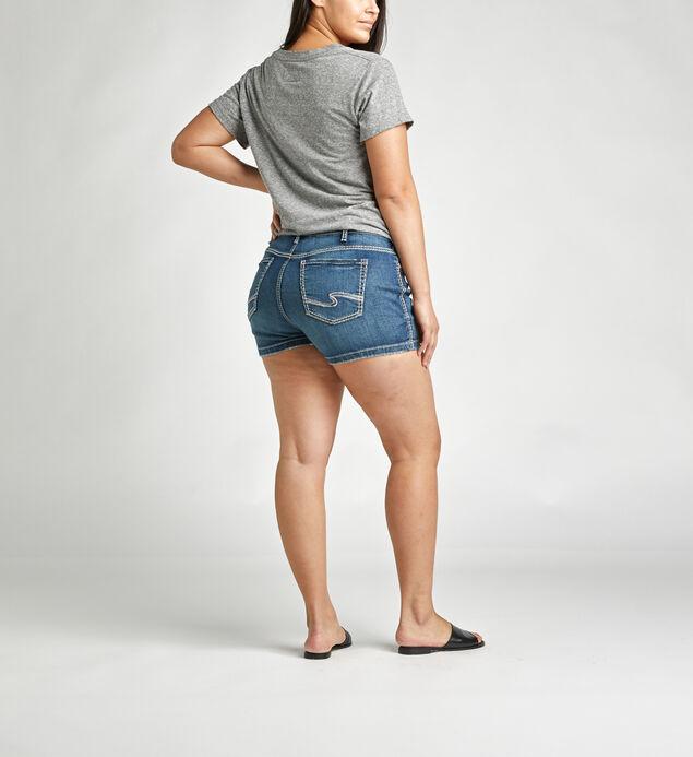 Elyse Mid Rise Short Plus Size, , hi-res