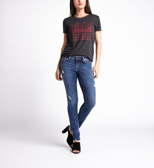Elyse Mid Rise Skinny Leg Jeans