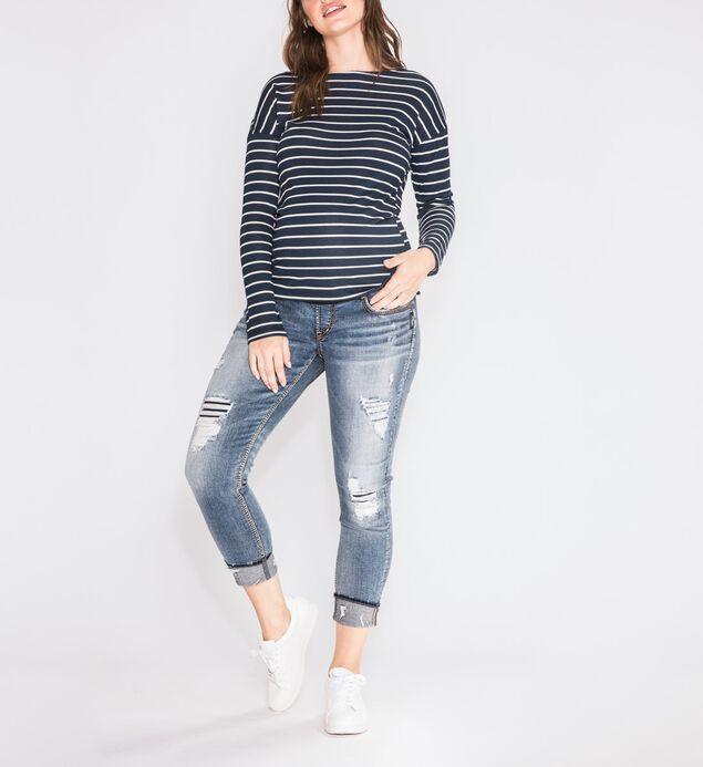 Girlfriend Skinny Leg Maternity Jeans