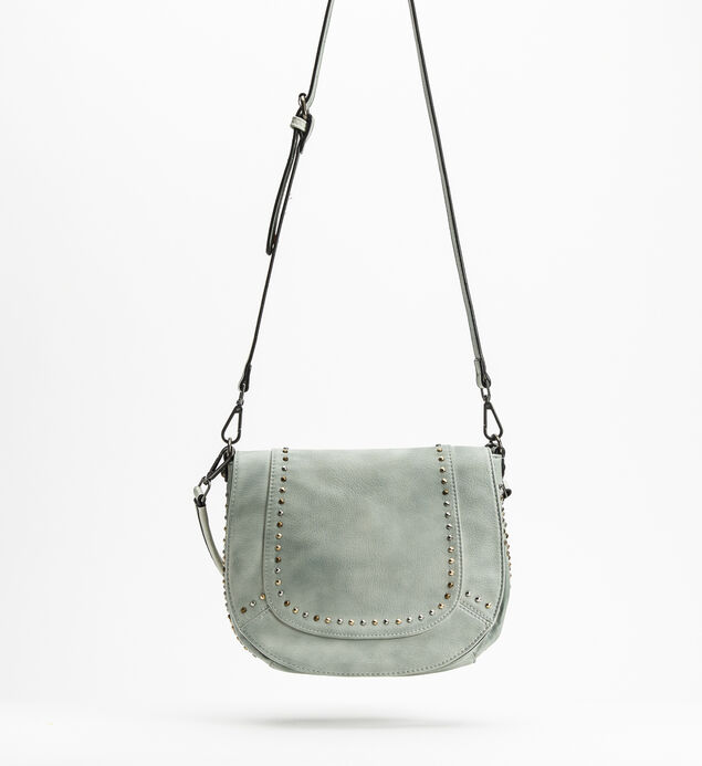 Vintage Saddle Crossbody, Sage, hi-res