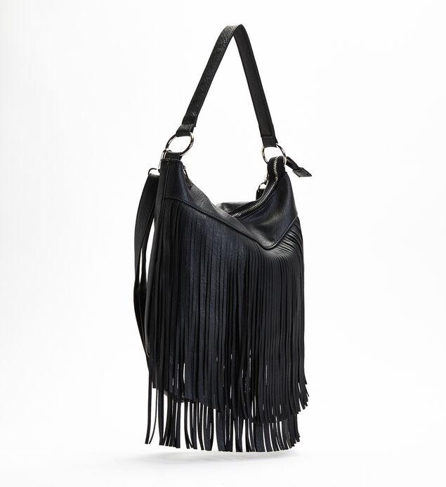 Bohemian Fringe Shoulder Bag, , hi-res