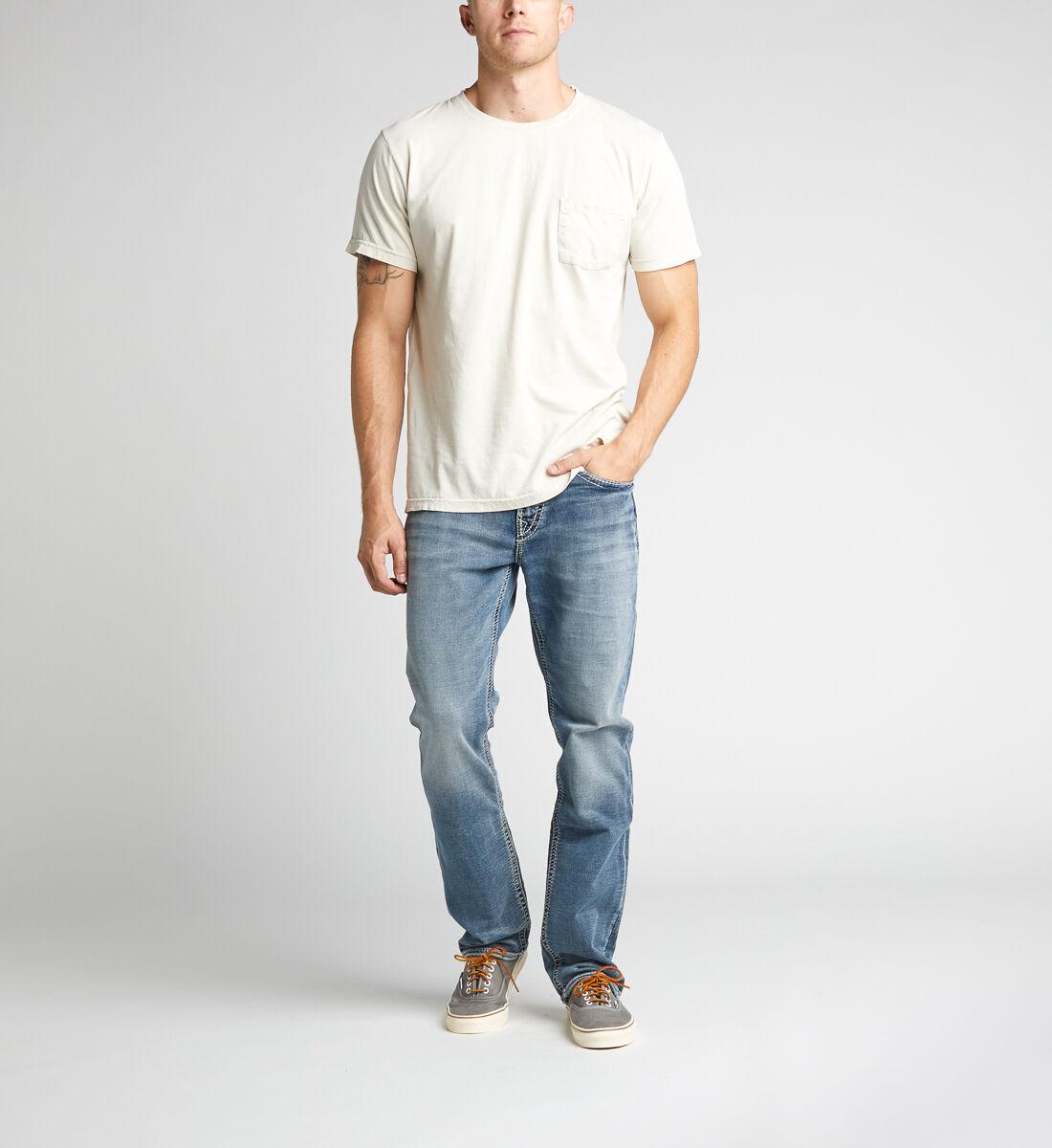 Grayson Easy Fit Straight Leg Jeans Alt Image 1