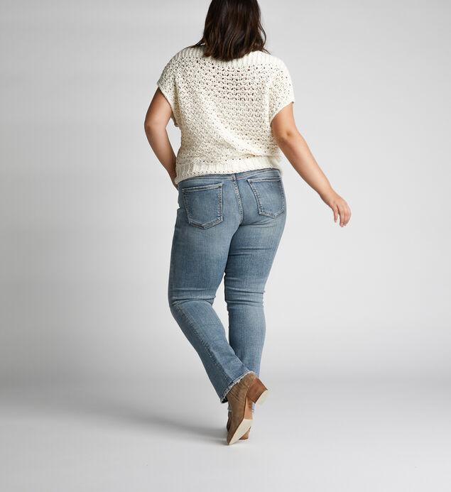 Suki Mid-Rise Curvy Straight-Leg Jeans, , hi-res