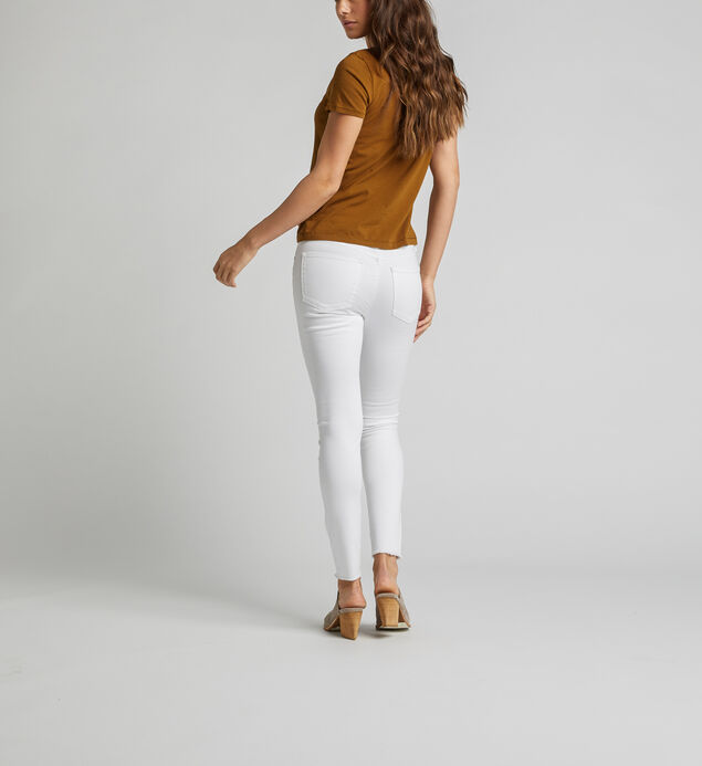 Most Wanted Mid Rise Skinny Leg Jeans, , hi-res