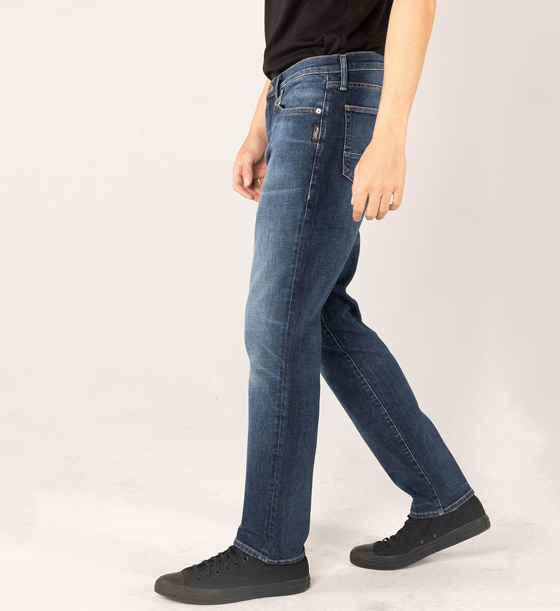 MACHRAY CLASSIC FIT STRAIGHT LEG JEANS Big & Tall Side