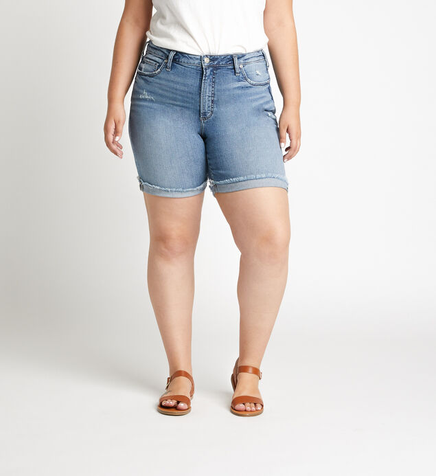 Sure Thing Long Short Plus Size