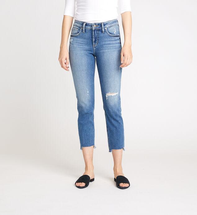 Avery High Rise Slim Crop Jeans