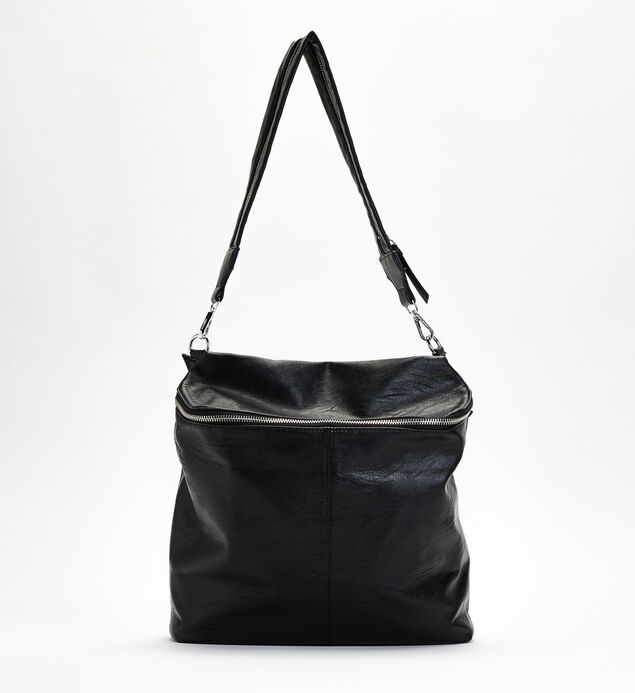Zip-Around Shoulder Bag