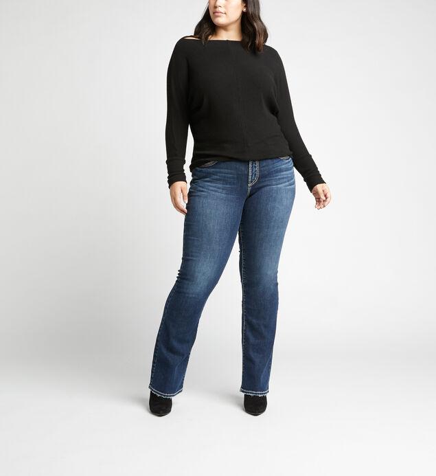 Suki Mid Rise Slim Bootcut Plus Size Jeans