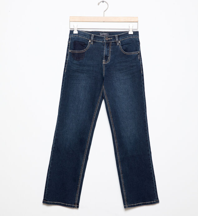 Garrett Loose-Fit Jeans in Dark Wash (4-7)