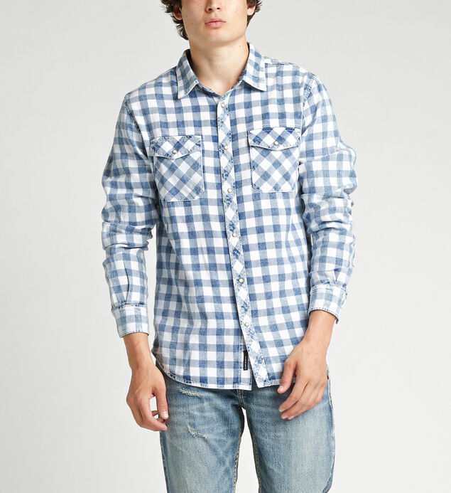 Connor Chambray Button-Down Shirt