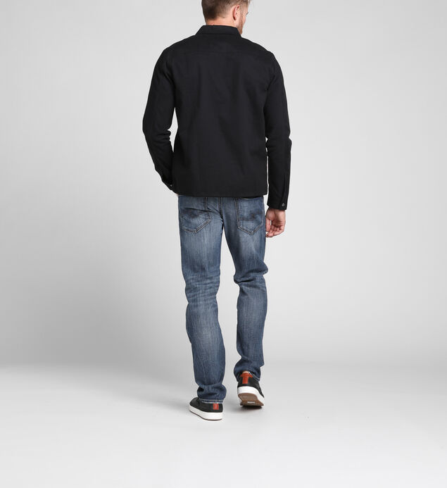 Eddie Relaxed Tapered Jeans, , hi-res
