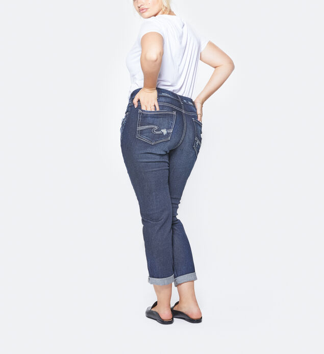 Sam Plus Size Dark Wash, , hi-res