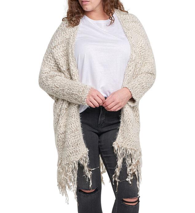 Marla Fringe Cardigan Sweater