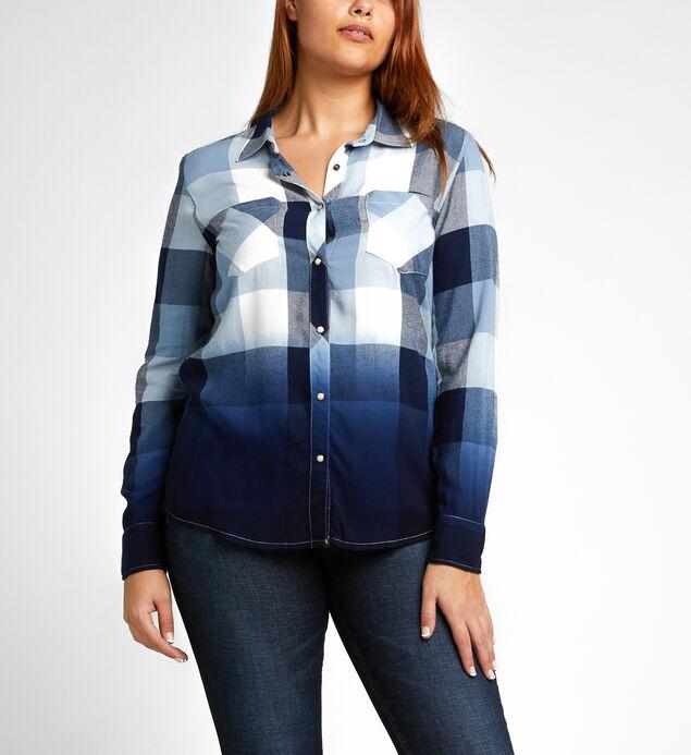 Vivian Long-Sleeve Plaid Shirt