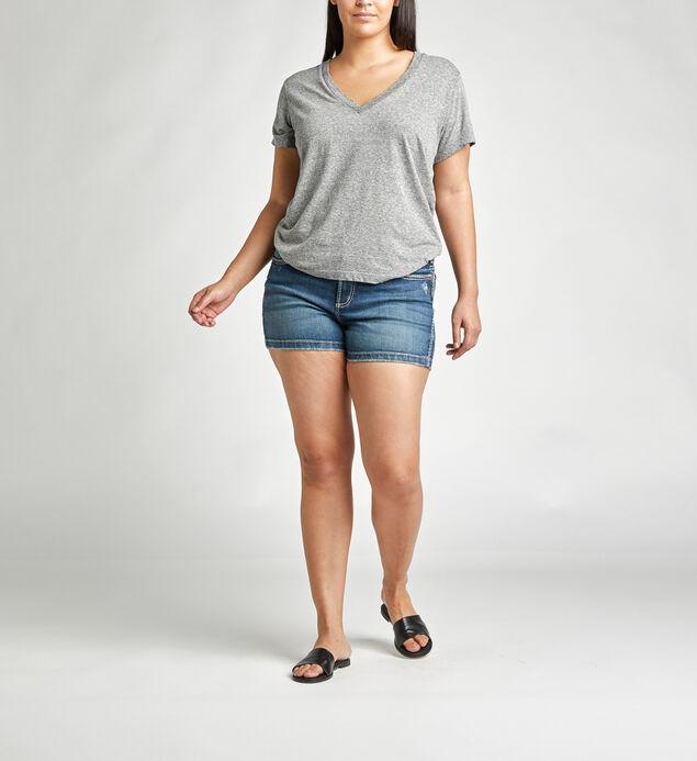 Elyse Mid Rise Short Plus Size