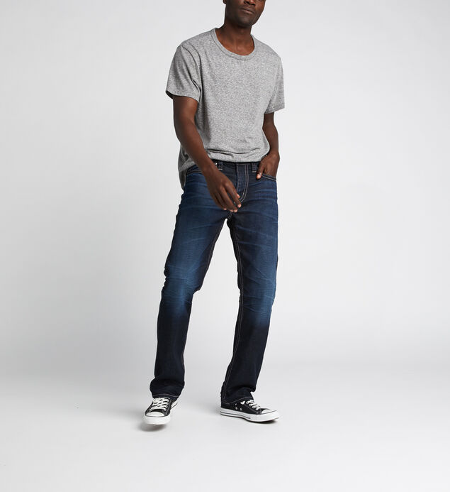 Grayson Easy Fit Straight Jeans