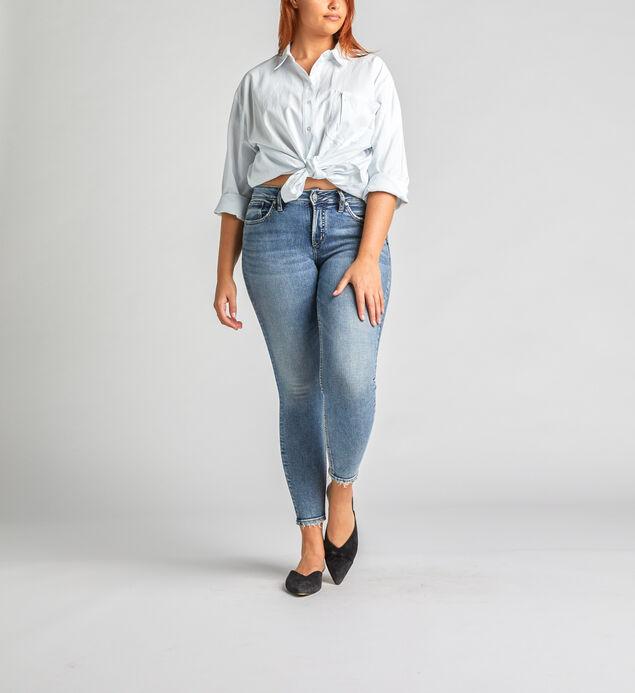 5b45adafb00e Silver Jeans Avery High Rise Skinny Leg Jeans