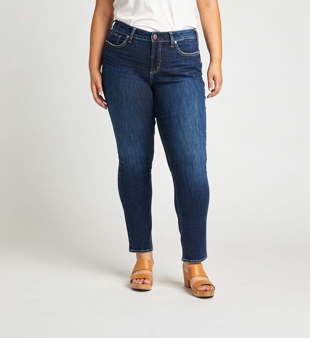 Avery High Rise Slim Leg Jeans Plus Size