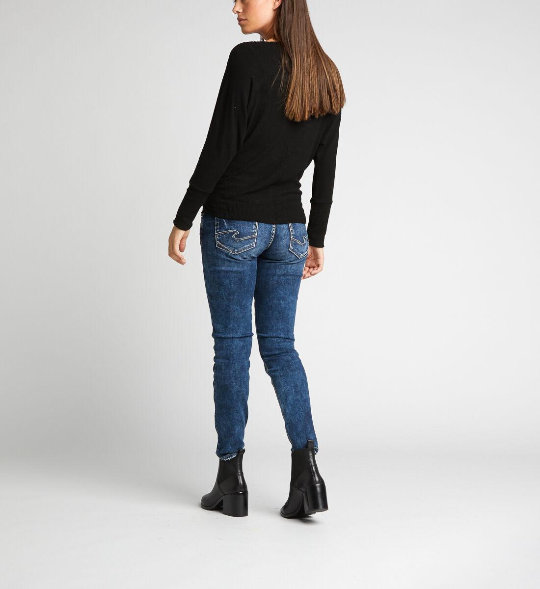Elyse Skinny Leg Maternity Jeans Back