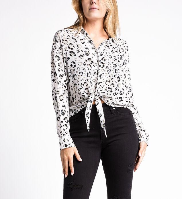 Sanya Leopard-Print Shirt