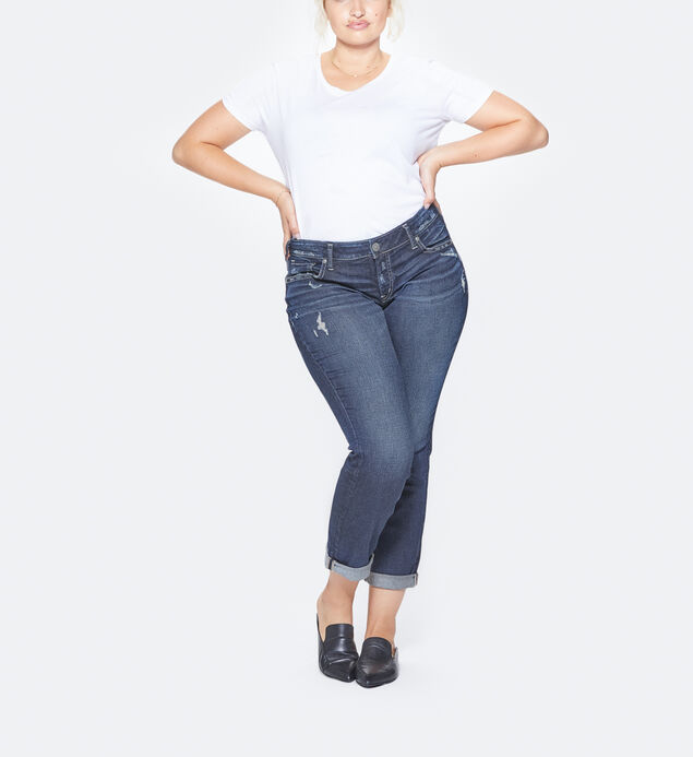 Sam Plus Size Dark Wash