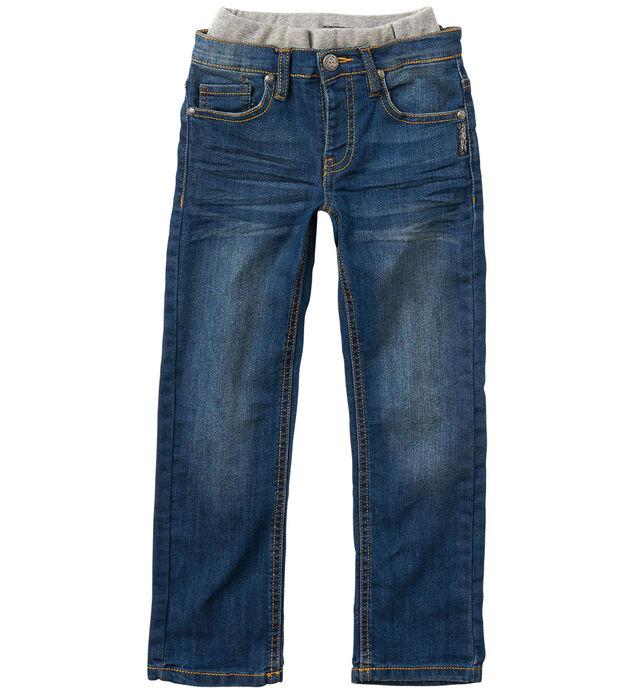 Cara Straight-Leg Jeans in Dark Wash (4-7)
