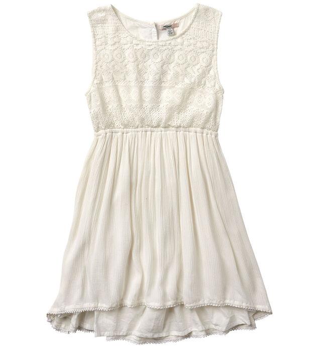 Sleeveless Lace Dress (4-7)