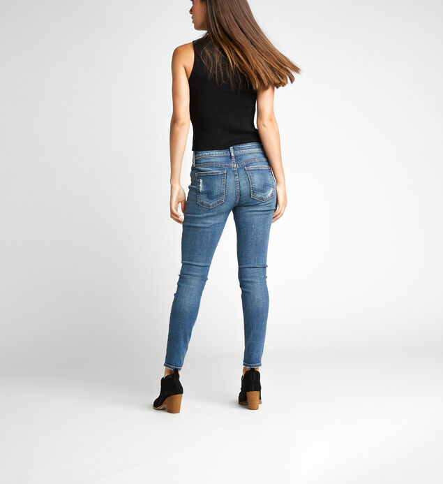 Elyse Mid Rise Skinny Leg Jeans, , hi-res