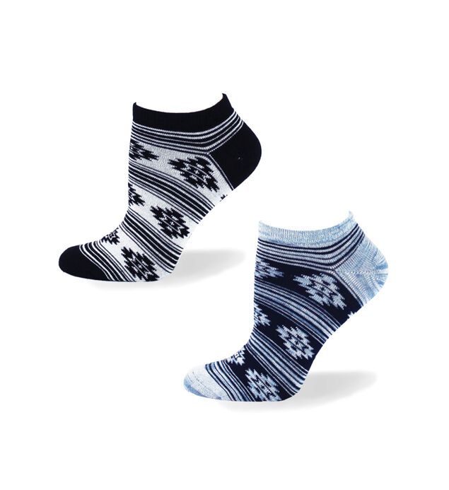 Aztec Patterned Ankle Socks