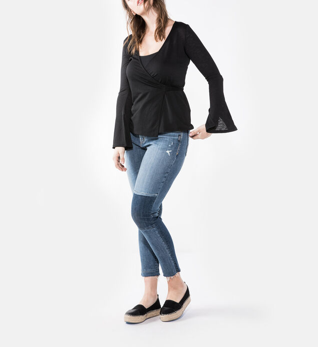 Izzy High Rise Ankle Slim Jeans Plus Size