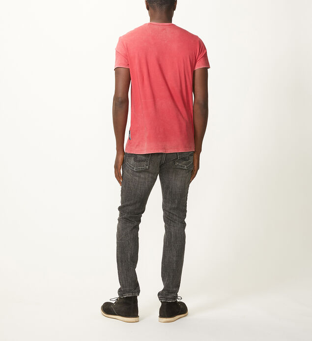 Shaun Short-Sleeve Tee, Red, hi-res