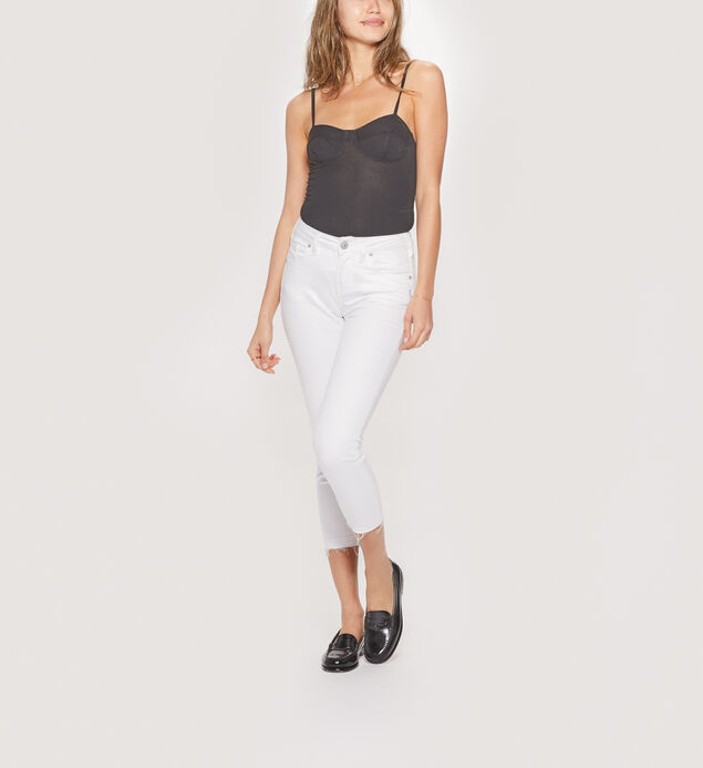 Avery Skinny Crop Color Wash