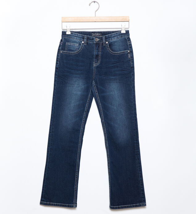 Zane Bootcut Jeans in Dark Wash (7-16)
